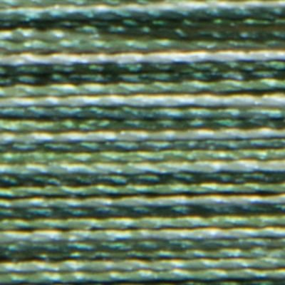 Isacord 1000m Polyester Variegated - Shades of Grass (9805)