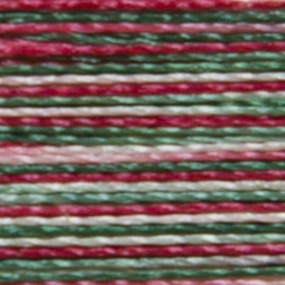 Isacord 1000m Polyester Variegated - Holly Berry Wreath (9864)