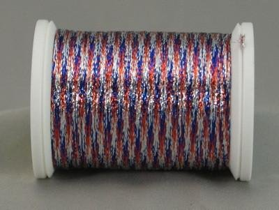 YLI Metallic Braid July 4th 324-10-302