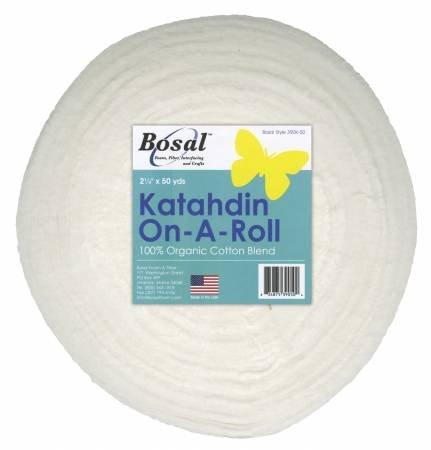 White Katahdin on a Roll 2-1/4 x 50yds