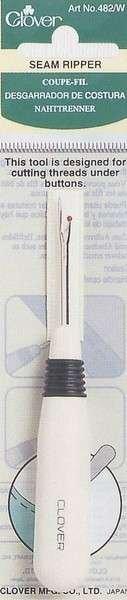 Seam Ripper White Plastic