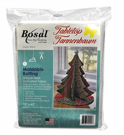 Tabletop Tannanbaums Bosal Moldable Batting