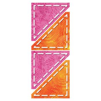 GO! Half Square Triangle - 3 Finished Square