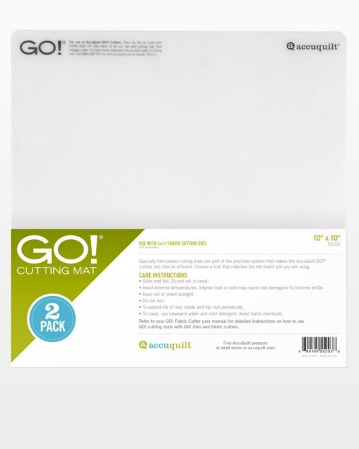GO! Cutting Mat - 10 x 10 2 Pack