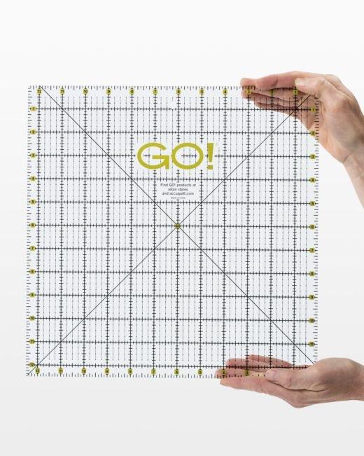 GO! Quilting Ruler - 12-1/2 x 12-1/2