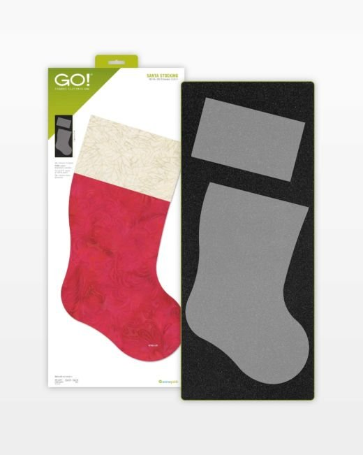 Accuquilt GO! Santa Stocking Die