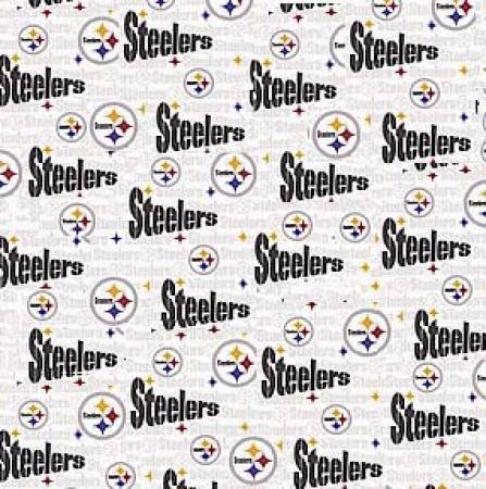 White Pittsburgh Steelers Cotton 60 6034-W