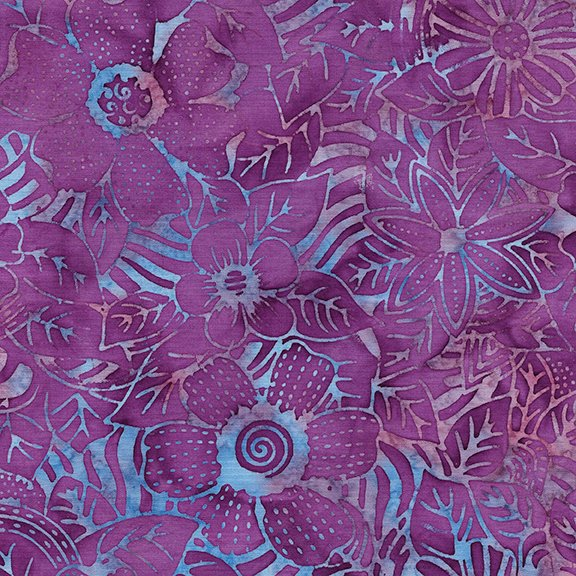 Tweet Batik 71190-1460 Flower Zebra - Jelly