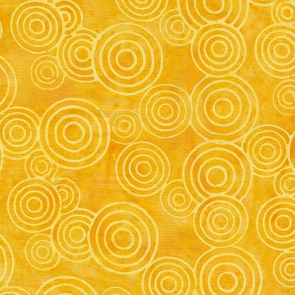 Tweet Batik 71190-6115 Circles - Lemonade