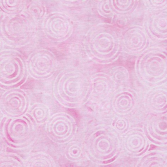 Tweet Batik 71190-6310 Circles - Carnation