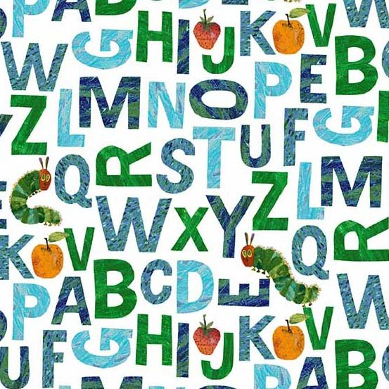 The Very Hungry Caterpillar - ABC's 8686-B