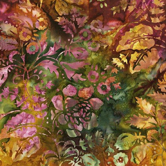 A Splash of Color Batik 8594-N