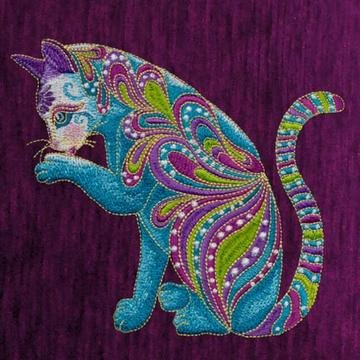 OESD Cat-i-tude Machine Embroidery CD