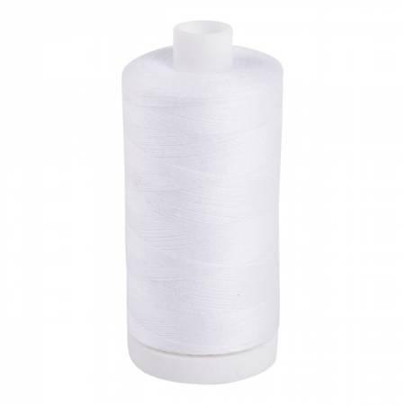 Aurifil 60 wt col. White 1531yds (bobbin thread)
