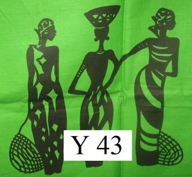 African Fabric - Women/Green