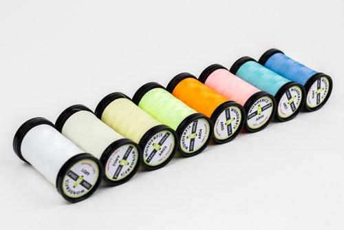 Ahrora Glow in the Dark Thread - Pastel Yellow AR03