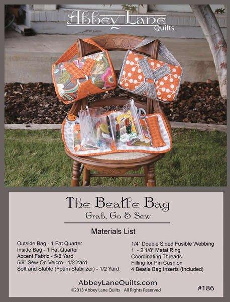 Abbey Lane Quilts The Beatle Bag Grab Go & Sew