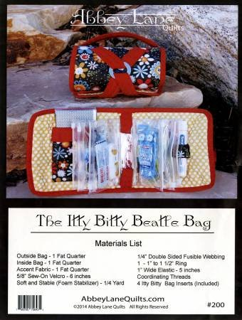The Itty Bitty Beatle Bag Pattern by Abbey Lane Quilts