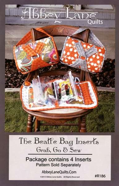 Abbey Lane Quilts The Beatle Bag Inserts. 4 Inserts per package.