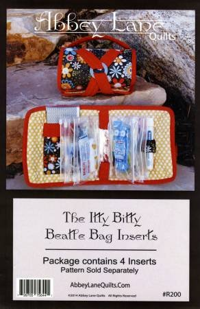 The Itty Bitty Beatle Bag Inserts by Abbey Lane Quilts