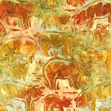 Artisan Batiks: Farm Country 20321-158 Wheat
