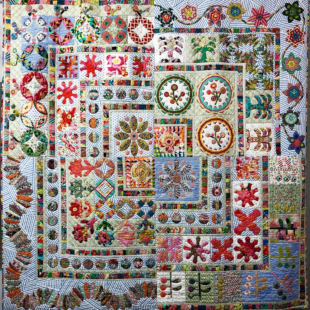 Antique Sampler With A Twist