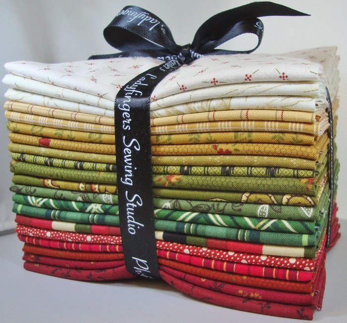 Antique Christmas Fat Quarter Bundle