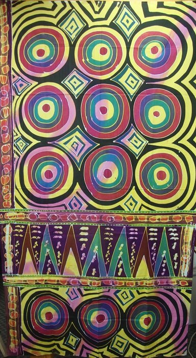 Hand-Painted Fabric [Bullseye] AP2MBE-2