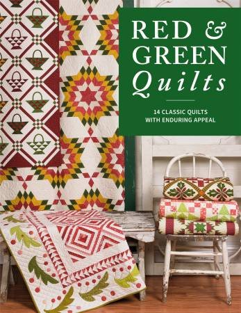 Red and Green Quilts - Softcover Book