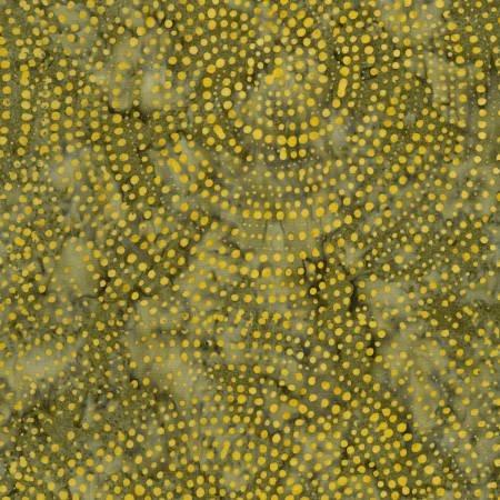 Tonga Color Wheel Rainbow Batik B2336-DIJON