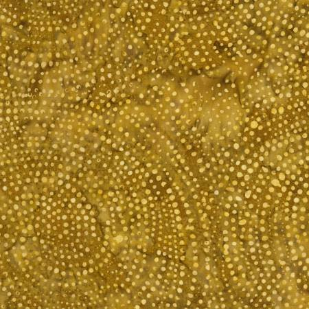 Tonga Color Wheel Rainbow Batik B2336-GOLD