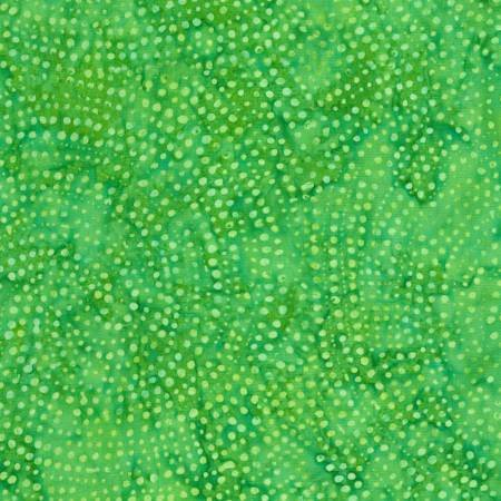 Tonga Color Wheel Rainbow Batik B2336-LIME