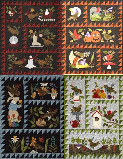 Quilt Backing - Bertie's Summer/Spring/Autumn/Winter