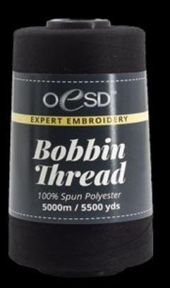 OESD Bobbin Thread Black 5500yds