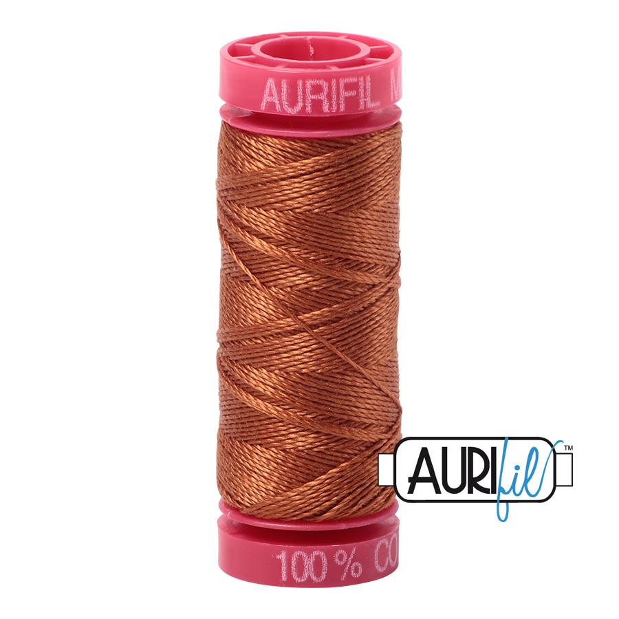 Aurifil 12wt col. 2155 Cinnamon 54yds