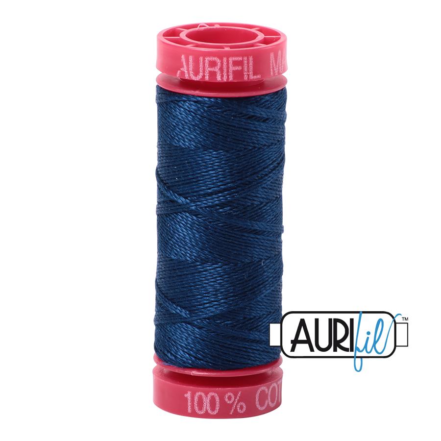 Aurifil 12wt col. 2783 Medium Delft Blue 54yds