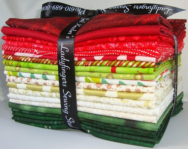 Bright Christmas Fat Quarter Bundle