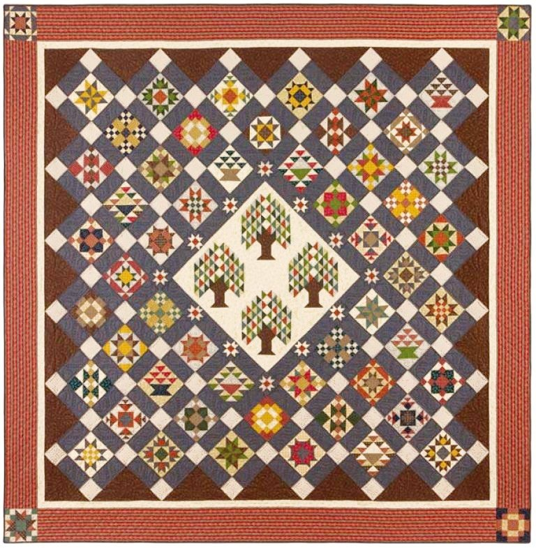 152: Bristle Creek Farmhouse Block of the Month Class #2 (Tree ... : quilt tree classes - Adamdwight.com