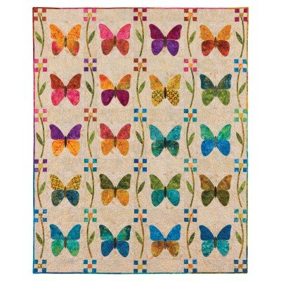 Quilt Backing -  Go! Butterfly Patch Quilt