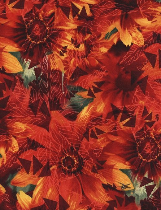 The Wildflower Collection Red Daisy C4062-RED