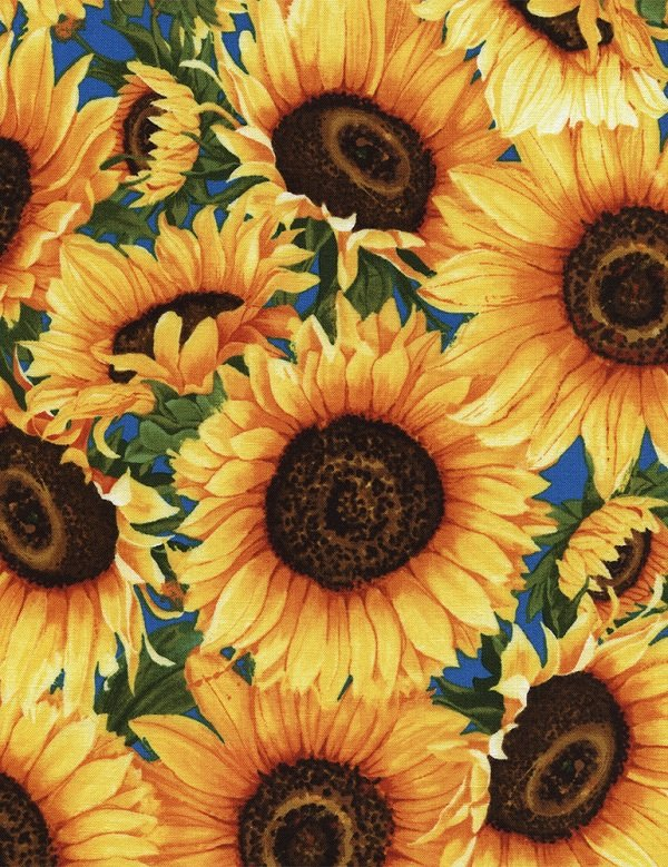 Wild Gold Sunflowers C4346-GOLD
