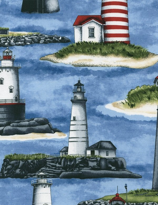 Beacon Lighthouses C4552-BLUE