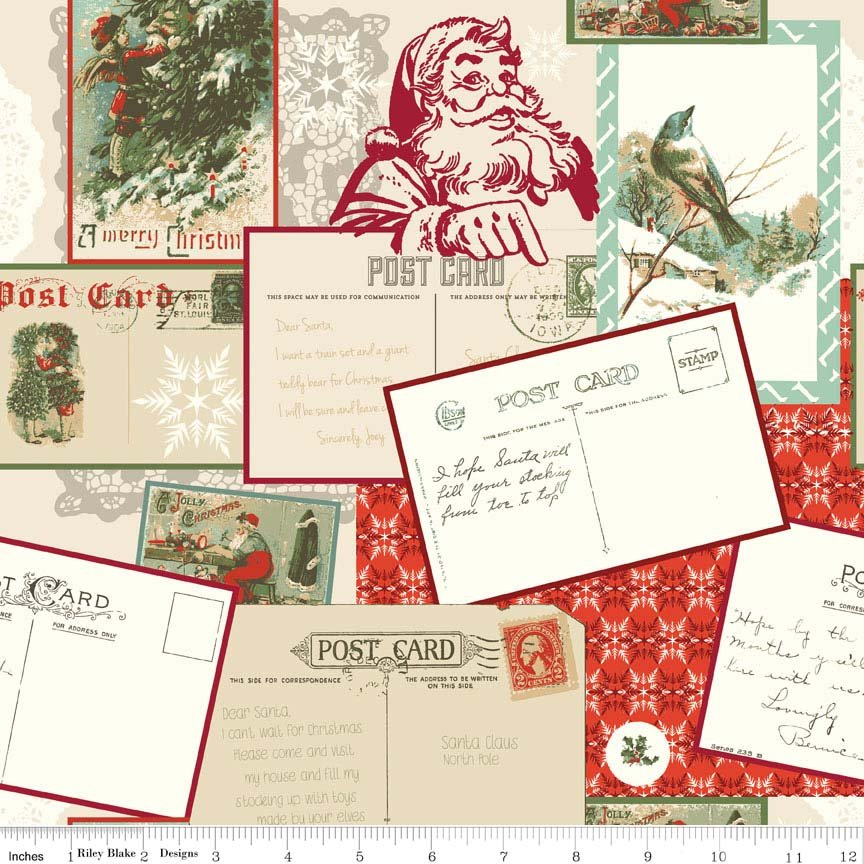 Postcards for Santa - Red C4750-RED