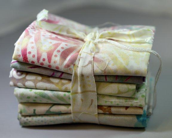 Candy Fat 6th Bundle - 1 Yard (6 - 12 x  21 Pre-Cuts)