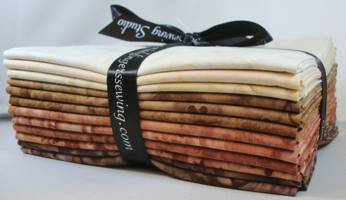 Cantik Batik Neutrals Fat Quarter Bundle