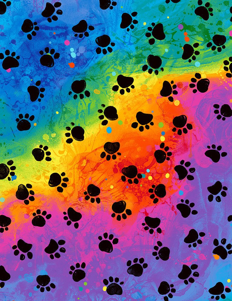 Meow-Za C7486-RAINBOW Paws