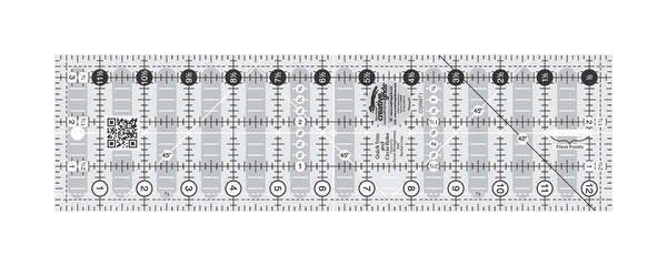 3.5 x 12.5 Quick Trim Ruler by Creative Grids