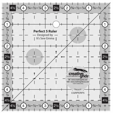 Perfect 5 Ruler by Creative Grids