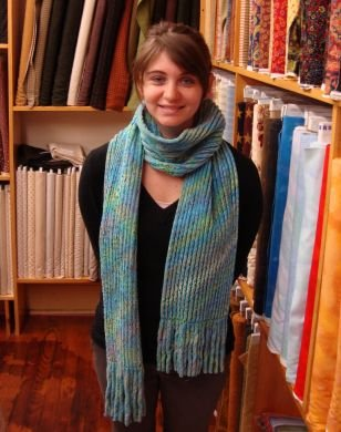 Chenille Flannel Scarf Kit
