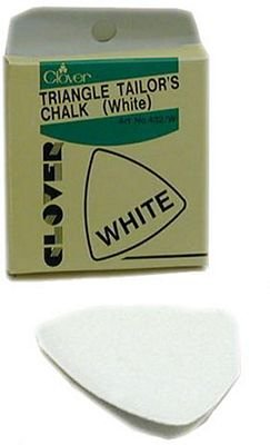 Triangle Tailor's Chalk (White)
